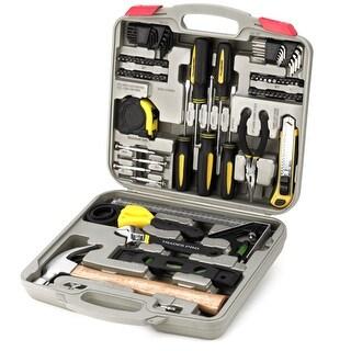 Trades Pro 100 Piece Repair Maintenance Home Tool Set, DIY Tool Kit, Strap Wrench - 835099