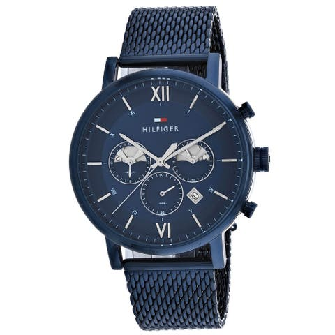 Tommy Hilfiger Men's Gents Blue Dial Watch - 1710397 - One Size