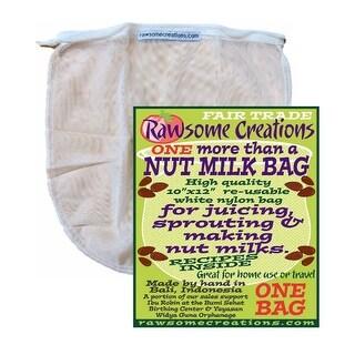 Rawsome Creations 9781 Nut Milk Bag, Nylon
