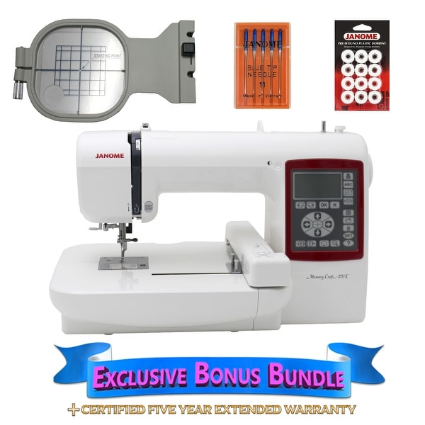 Shop Janome Memory Craft 230e Embroidery Machine With Exclusive