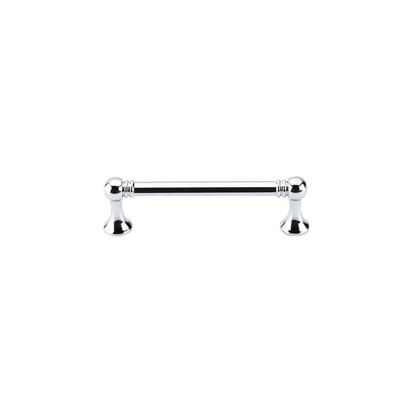 "Top Knobs M1623 Grace 3-3/4"" Center to Center Handle Cabinet Pull from the Edwardian Series - Polished chrome"