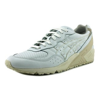Asics Gel-Sight Men Round Toe Leather White Sneakers