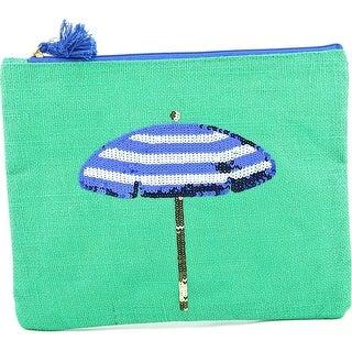Mudpie Maya Bay Dazzle Case Umbrella Women Synthetic Green Clutch