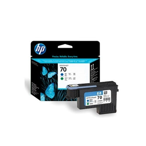 HP 70 Blue and Green DesignJet Printhead (C9408A) (Single Pack)