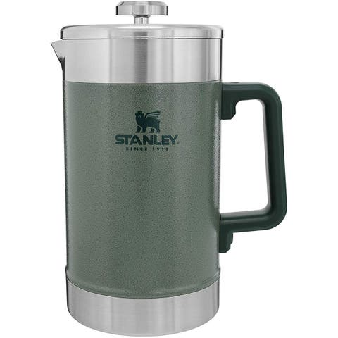 Stanley Classic 48 oz. Stay Hot French Press Coffee Pot - Hammertone Green - 48 oz.