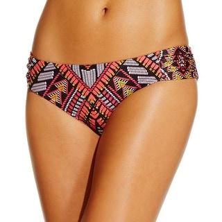 Becca Womens Printed Bikini Swim Bottom Separates