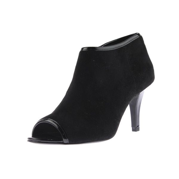 Bandolino Womens Maiba Booties Open-Toe - 10 medium (b,m)