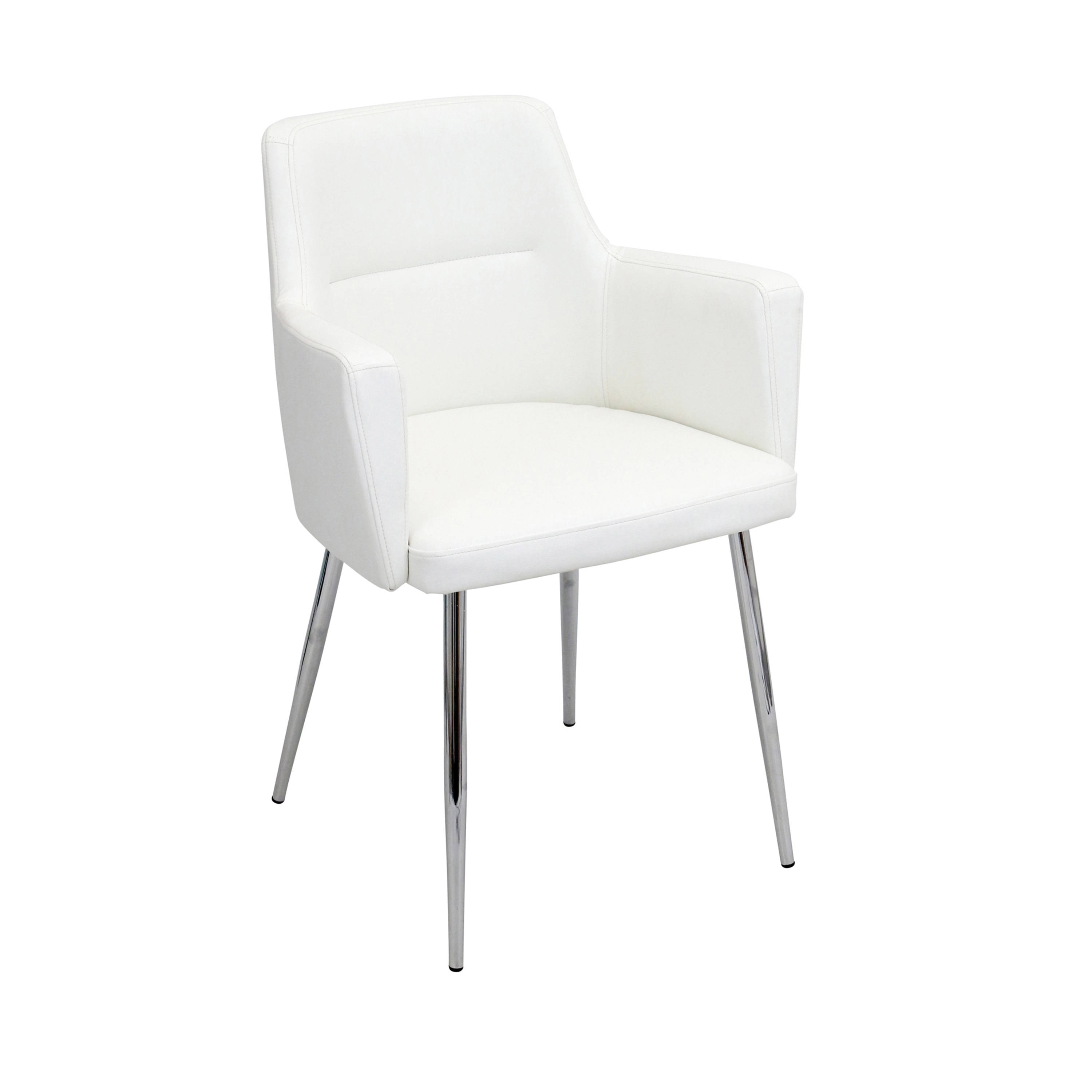 Lumisource Andrew Modern Dining Chair Set Of 2 Overstock 10992870 Grey