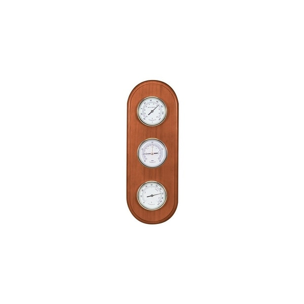 AcuRite 14 Inch Pine Wood Weather Station Pine Wood Weather Station