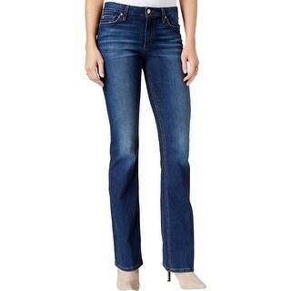 Joe's Jeans Womens The Honey Bootcut Jeans Curvy Five-Pocket