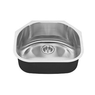 "American Standard 18SB.9232100S Portsmouth 23-3/16"" Single Basin Stainless Steel Kitchen Sink for Undermount Installations -"