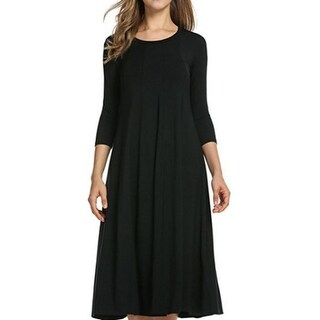 Link to Round Neck Sleeve Dress Similar Items in Dresses