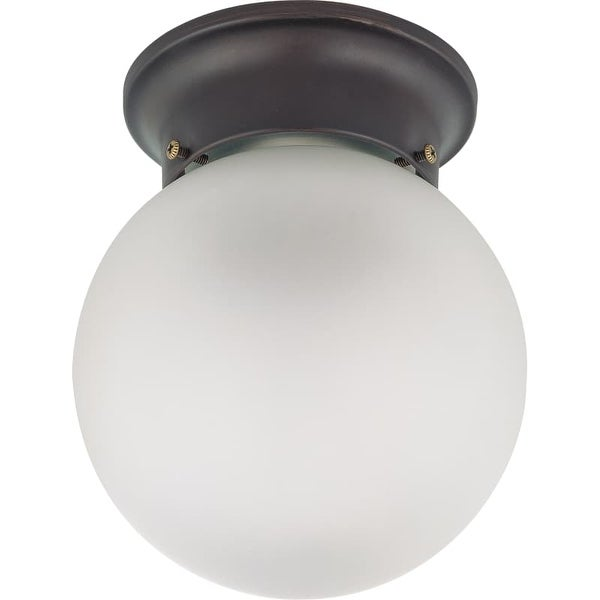 "Nuvo Lighting 60/3154 Single Light 6"" Wide Flush Mount Ceiling Fixture"