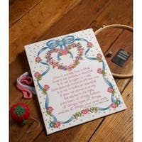 """10.5""""X13.5"""" 14 Count - Paul To Corinthians Counted Cross Stitch Kit"""
