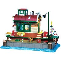 Lemax 45727 Village Building Houseboat Celebration