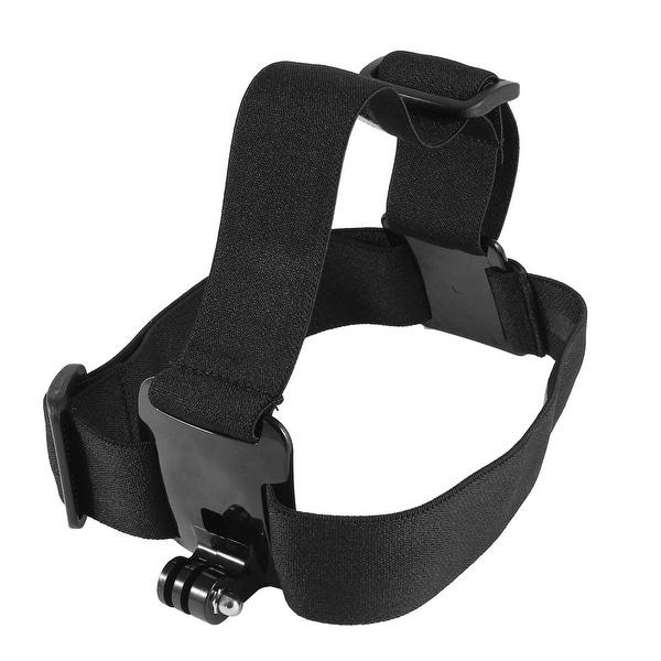 Black Elastic Head Strap Mount Belt w Carrying Bag for GoPro Hero 2 3