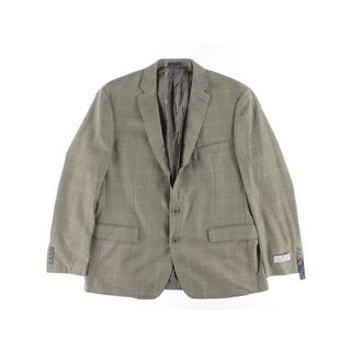 Ryan Seacrest Mens Range 04 Silk/Wool Slim Fit Sportcoat