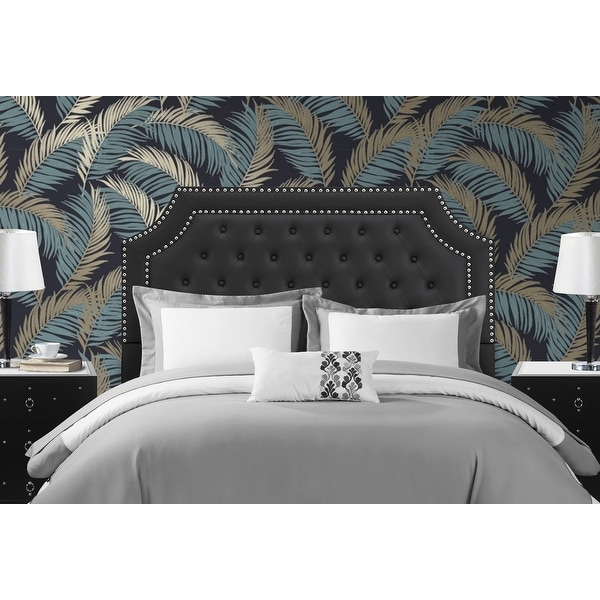 Chic Home Malan PU Leather Upholstered Button Tufted Headboard. Opens flyout.