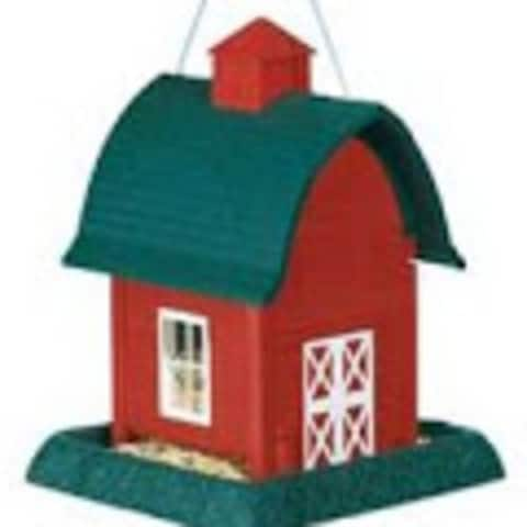 North State 9081 Small Barn Bird Feeder 5 lbs