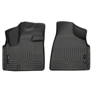 Husky Weatherbeater 2008-2016 Chrysler Town & Country Black Front Floor Mats/Liners