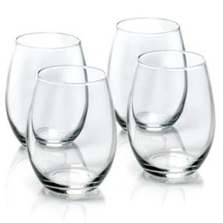 Anchor Hocking AH-WINE4 Stemless Wine - 4 Piece