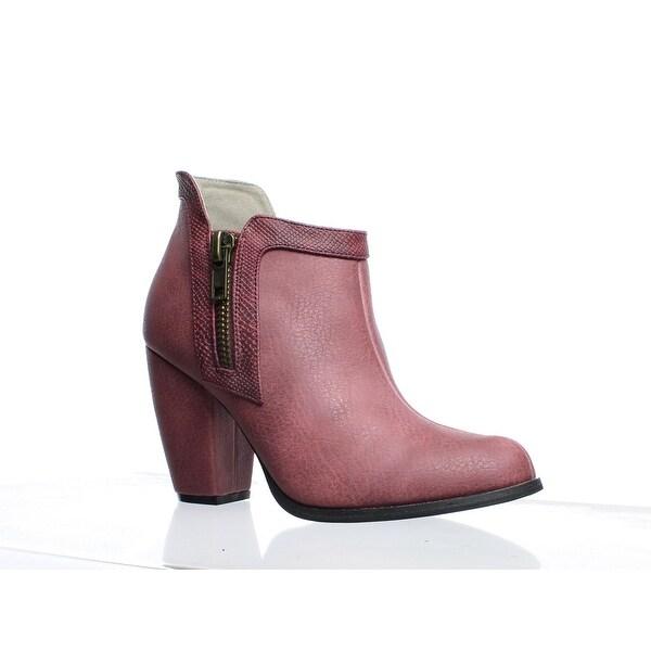 c1acb23c771 Shop Michael Antonio Womens Mato Plum Booties Size 8 - On Sale ...