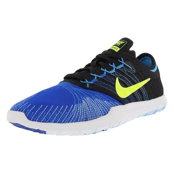 Shop Nike Womens Flex adapt tr Low Top Lace Up Running Sneaker ... 28fc55d12