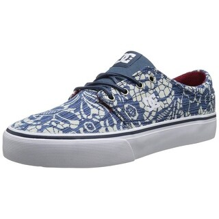 DC Womens Trase TX SE Canvas Skateboarding Shoes - 10.5