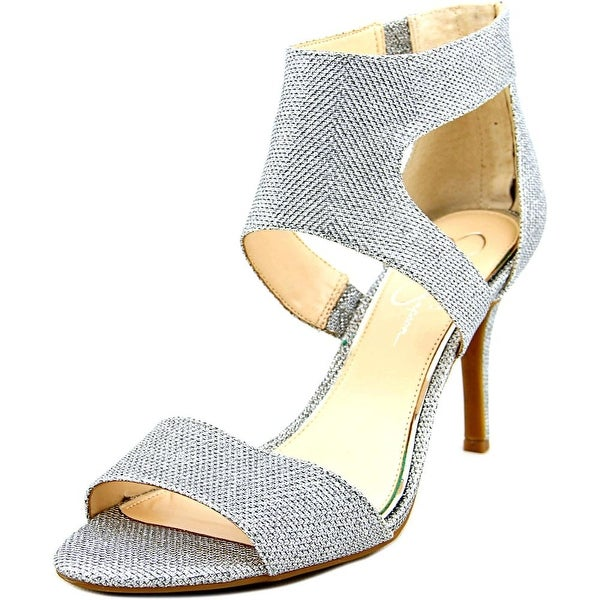 Jessica Simpson Mekos Women Open Toe Canvas Sandals