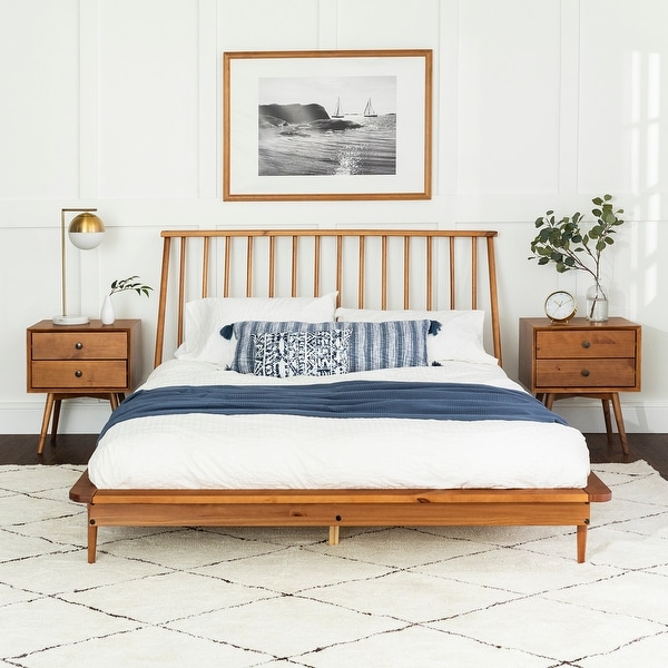 Carson Carrington Blaney Solid Pine Wood Spindle Bed. Opens flyout.