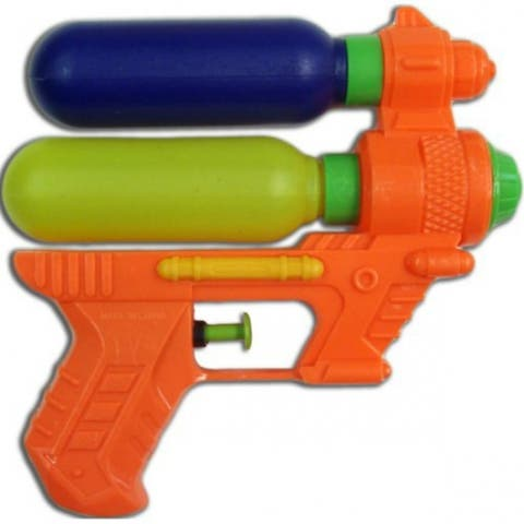 """Water Sports 81000-7 Small CSG X1 Water Gun, Assorted Colors - 6"""""""