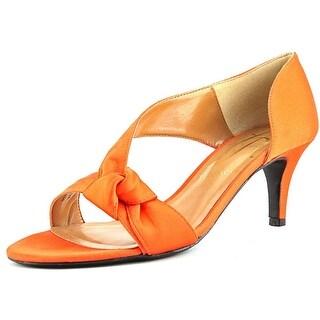 J. Renee Jaynnie Women Orange Sandals