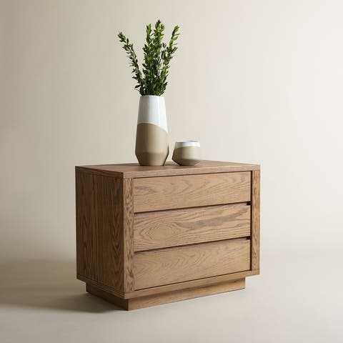 SAFAVIEH Couture Holt 3 Drawer Nightstand