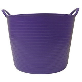 Tubtrugs SP42P 10 Gallon Flexible Storage Bucket, Purple