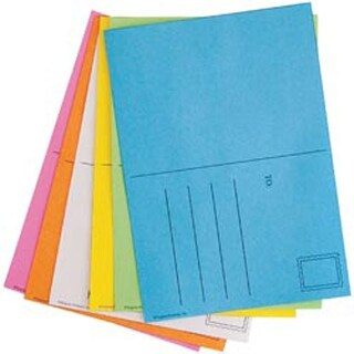 "Assorted Bright Colors - Mighty Bright Make And Mail Postcards 4""X5.5"" 25/Pkg"