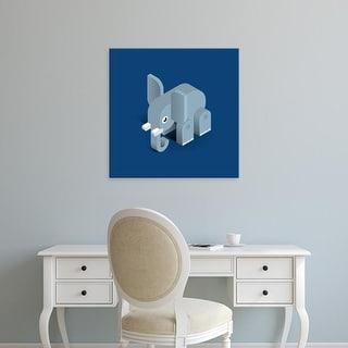 Easy Art Prints Bo Virkelyst Jensen's 'Elephant' Premium Canvas Art