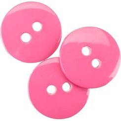 """Carnation 5/8"""" - Small Color Buttons 20/Pkg"""