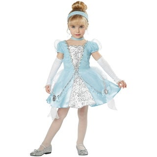 California Costumes Cinderella Deluxe Toddler Costume - Blue - Large