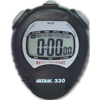 Ultrak 330 Jumbo Display Sport Stopwatch - Black