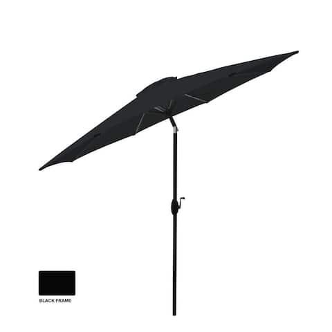 Raven Black - 9' Aluminum Market Umbrella