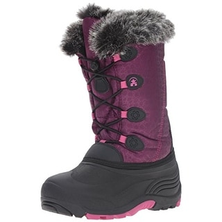 Kamik Girls Snow Gypsy Snow Boots Faux Fur Insulated