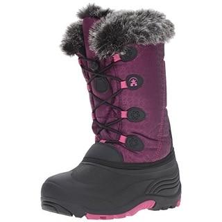 Kamik Girls Snowgypsy Waterproof Faux Fur Snow Boots - 7 medium (b,m)