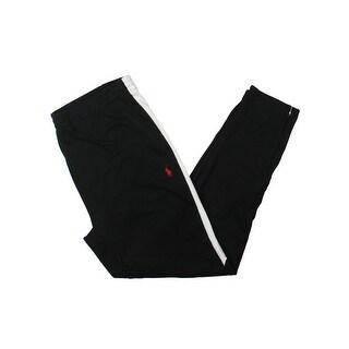 Polo Ralph Lauren Mens Athletic Pants Cotton Interlock Tapered