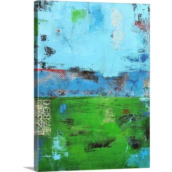 """Urban Meadow"" Canvas Wall Art"