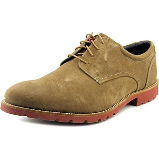 Rockport Colben Men W Round Toe Leather Tan Oxford