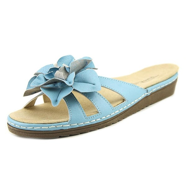 Beacon Cpcake Women Open Toe Synthetic Blue Slides Sandal