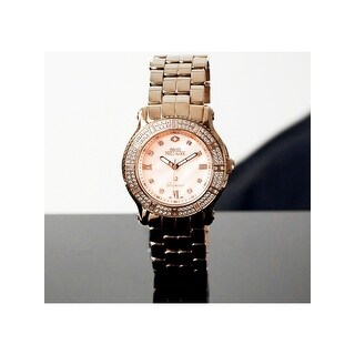 Swiss Precimax Women's Tribeca Diamond SP13328 Rose Gold Stainless-Steel Plated Parts Quartz Dress Watch