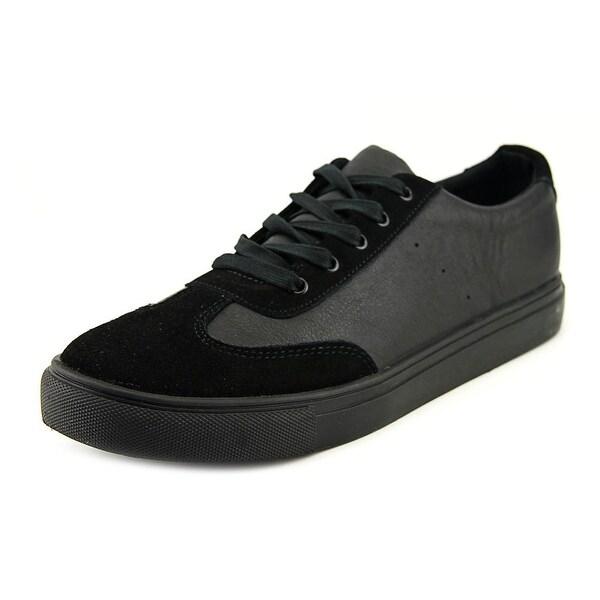 36f86e53dc14f Shop Generic Surplus Champion Low Men Leather Black Fashion Sneakers ...