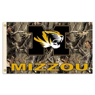 University of Missouri Tigers Camo Flag