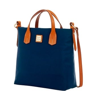 Dooney & Bourke Windham Cleo Letter Carrier (Introduced by Dooney & Bourke at $178 in Jan 2016) - Navy
